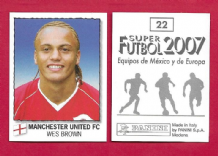 Manchester United Wes Brown England 22